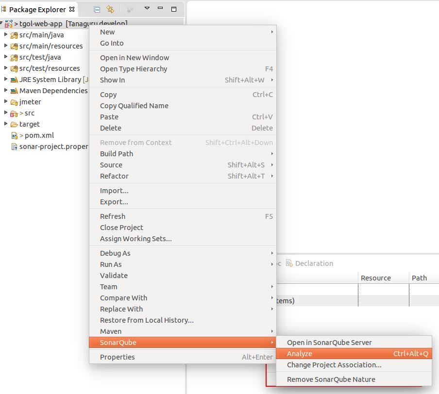 Run with SonarQube Eclipse plugin - Tanaguru Sonar plugin